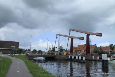 De Broekvelderbrug over de Oude Rijn in Bodegraven