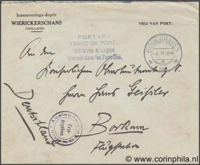 """Bodegraven, op Fort Wierickerschans was van 1915-1917 een zogeheten """"interneringsdepot"""" voor de opvang van buitenlandse militairen in het neutrale Nederland."""