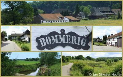 Diverse uitzichten op het idyllische buurtschapje Bommerig