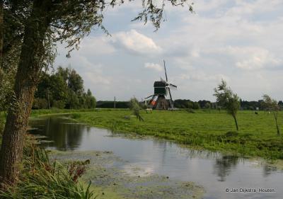 De molen van Bonrepas aan de Vlist