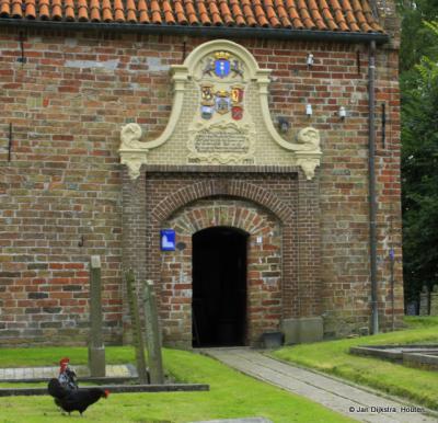 Ingang Mariakerk Bornwird