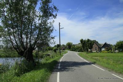 Nog maar een plaatje, omdat het er zo mooi is, daar in Bovenberg