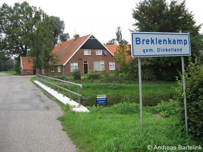 Breklenkamp, nabij de brug over de Geele Beek in de Hoofdstraat