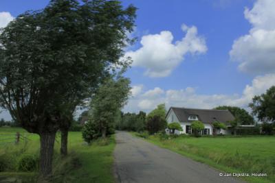 Deel van buurtschap Broek in het dorpsgebied van Meerkerk