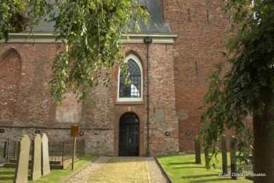 Toegang tot de Hervormde kerk van Buitenpost