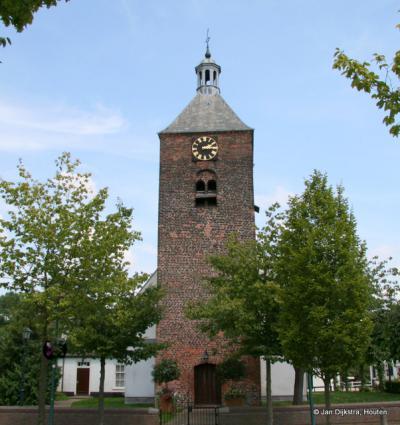 Het bekende kerkje van Bunnik