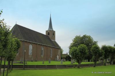 Het kerkje van Burum op een terp