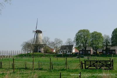 Buren, windmolen.