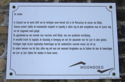 Het verhaal van de smidse van Robijn in Cadzand.