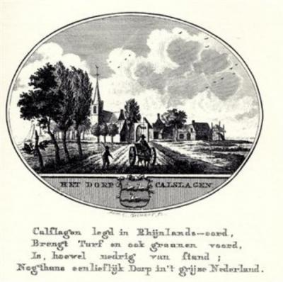 Calslagen, anno 1800