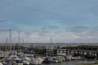 De jachthaven van Colijnsplaat