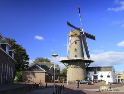 Molen De Hoop in het centrum van Culemborg op het 't Jacht