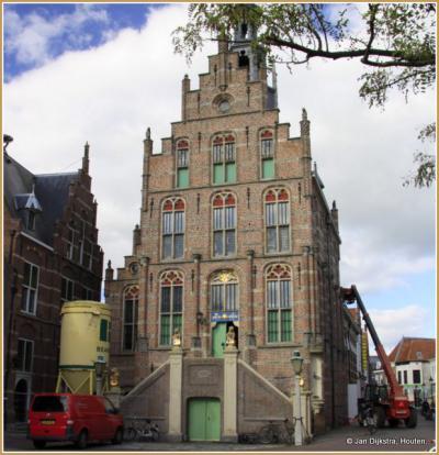 Het stadhuis in Culemborg krijgt een opknapbeurt