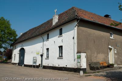 """Herkenrade (buurtschap van Sint Geertruid), Geiten(kaas)boerderij """"De holle bolle geit""""."""