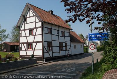 Herkenrade (buurtschap van Sint Geertruid), Vakwerkwoning.