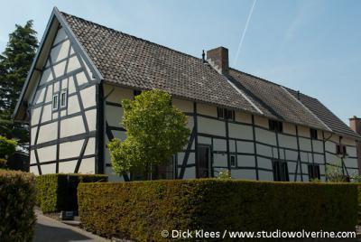 Kleeberg (buurtschap van Mechelen), Vakwerkboerderij