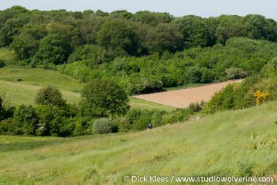 De omgeving van Landsrade is een eldorado voor wandelaars