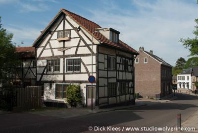 Mechelen, vakwerkhuis Oud Mechelen