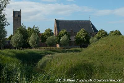 Oosterland, kerktoren, los van de kerk