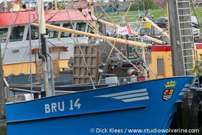 Bruinisse, vissersboot