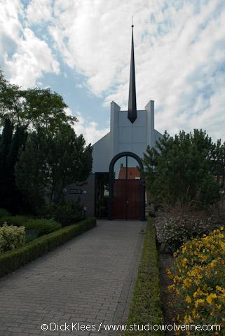 Nieuwdorp, modern kerkgebouw