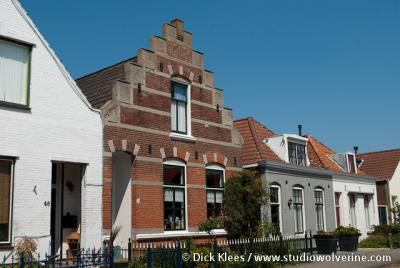 Oost-Souburg, trapgevel woning