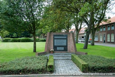 Monument voor slachtoffers wereldoorlog II, Oost- en West-Souburg