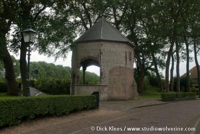 Veere, de fontein bij de Grote Kerk