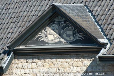 Eys, detail van de kasteelhoeve van Kasteel Goedenraad