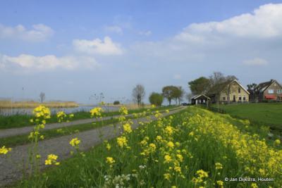 De Donk in het voorjaar