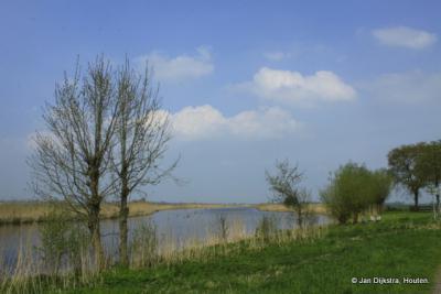 Vanaf De Donk zien we de Grote- of Achterwaterschap.