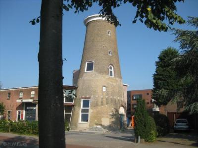 Molenromp in De Glip, vroeger een buurtschap, tegenwoordig een wijk in het Z van Heemstede