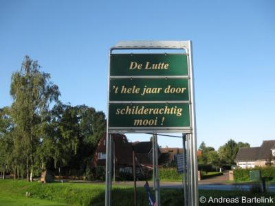 De Lutte met omgeving is inderdaad schilderachtig mooi, met o.a. de vele landgoederen en de ligging aan het riviertje de Dinkel