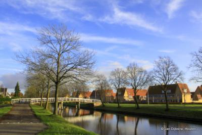 Een blik op de tussen 1997 en 2003 gerealiseerde wijk Veldhuizen in De Meern