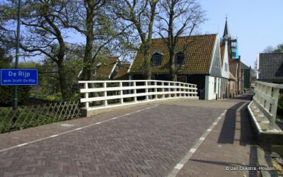 De Rijp is een van de pittoreske dorpjes in de streek Kennemerland