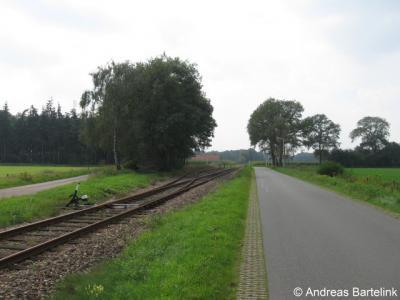 De Veldmaat, Museum Buurt Spoorweg Haaksbergen, aansluiting Stepelo