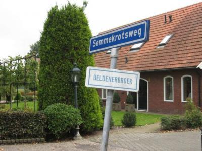 Bij de gemeentelijke herindelingen van 2001 is een ieniemienie stukje van Deldenerbroek niet naar de gem. Hof van Twente gegaan, maar naar de gem. Almelo, en daarmee naar de kern Bornerbroek, nl. het driehoekje Semmekrotsweg/Goordijk/A1/Twentekanaal.
