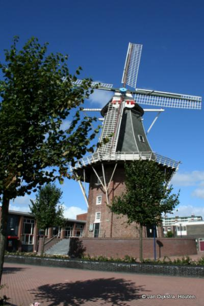 Molen Adam in Delfzijl