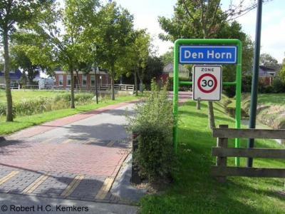 Den Horn is een dorp in de provincie Groningen, in de streek en gemeente Westerkwartier. T/m 1989 gemeente Aduard. In 1990 over naar gemeente Zuidhorn, in 2019 over naar gemeente Westerkwartier.
