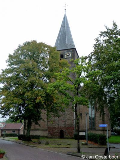Diever, de oorspronkelijk 12e-eeuwse Sint Pancratiuskerk is een van de oudste en mooiste kerken in Drenthe
