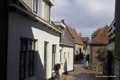 De Koekebakkerssteeg in Dokkum.