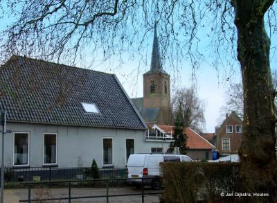 Midden in het dorp Zwammerdam.