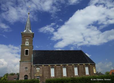 De Hervormde kerk van Driezum.