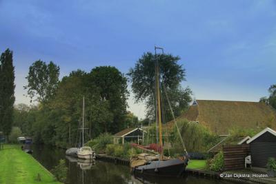 IJlst, één van de Friese Elfsteden.