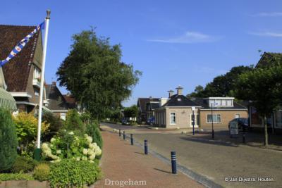Drogeham in Achtkarspelen Fryslân.
