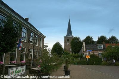 Easterlittens, dorpsgezicht.