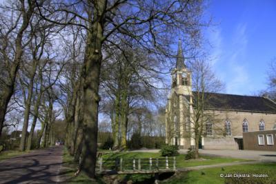 De huidige kerk van de Protestantse Gemeente Eastermar is in 1868 gebouwd in de huidige buurtschap It Heechsân (toen nog dorp Oostermeer).