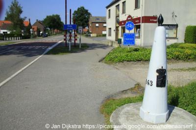 Eede, dit kleine dorp is bekend van het feit dat koningin Wilhelmina hier Nederland binnenkwam aan het eind van de Tweede Wereldoorlog.