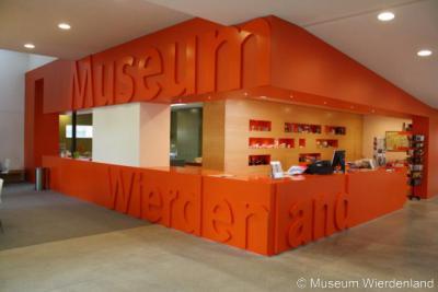 Ezinge, entree Museum Wierdenland