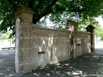 Feijenoord, monument voor de joodse slachtoffers van de Tweede Wereldoorlog uit Rotterdam en van de Zuidhollandse Eilanden